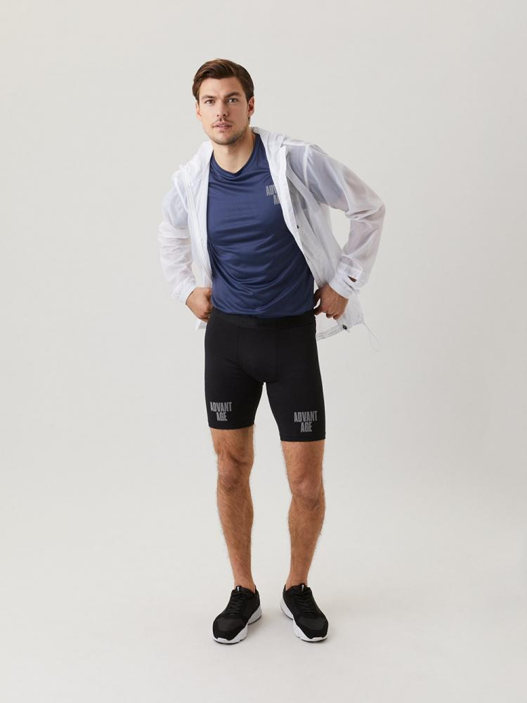 LEGÍNY BJÖRN BORG NIGHT BIKE SHORTS  ČERNÉ