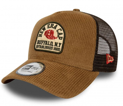 KŠILTOVKA NEW ERA FABRIC PATCH TRUCKER STN HNEDÁ