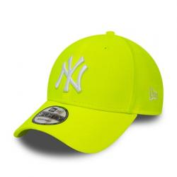 KŠILTOVKA NEW ERA LEAGUE ESSENTIAL NEON PACK 9FORTY NEW YORK YANKEES NEY ZLUTÁ