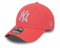 KŠILTOVKA NEW ERA LEAGUE ESSENTIAL NEON PACK 9FORTY NEW YORK YANKEES NEP RUŽOVÁ