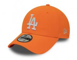 KŠILTOVKA NEW ERA LEAGUE ESSENTIAL NEON PACK 9FORTY LOS ANGELES DODGERS NEO ORANŽOVÁ