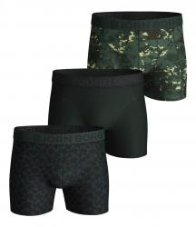 BOXERKY BJÖRN BORG DIGITAL WOODLAND & ABSTRACT COTTON STRETCH SHORTS 3-PACK ZELENÉ