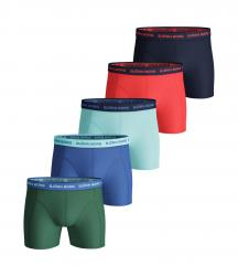 BOXERKY BJÖRN BORG SEASONAL SOLID ESSENTIAL SHORTS 5-PACK ZELENÉ